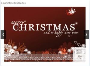 weihnachtskarten versenden mit dem gmx. Black Bedroom Furniture Sets. Home Design Ideas