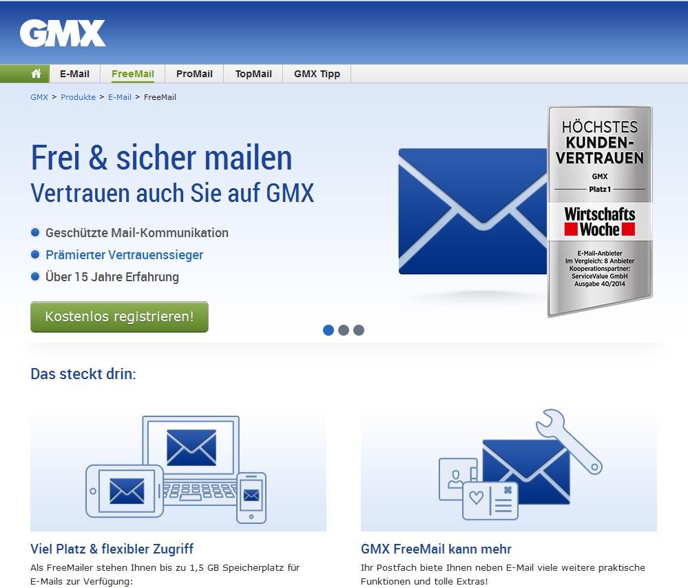 www gmx der