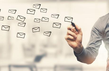 E-Mail-Volumen in Deutschland auf neuem Rekordhoch von 771 Milliarden E-Mails. (c) Shutterstock