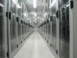 Serverraum des GMX Rechenzentrums