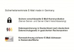 """E-Mail made in Germany"" Kundenversprechen"